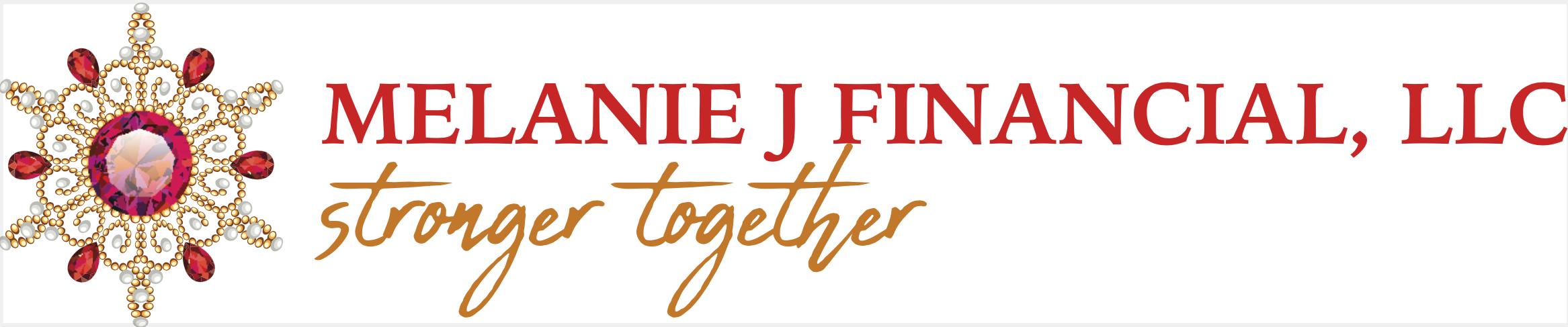 Melanie J Financial Brand Logo